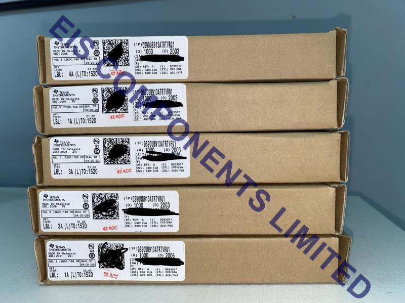 DS90UB913ATRTVRQ1 box