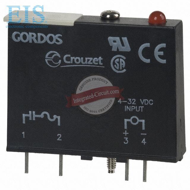 GORDOS Crouzet PB-24Q PB-24Q-1 I//O MOUNTING BOARD C4 24POS