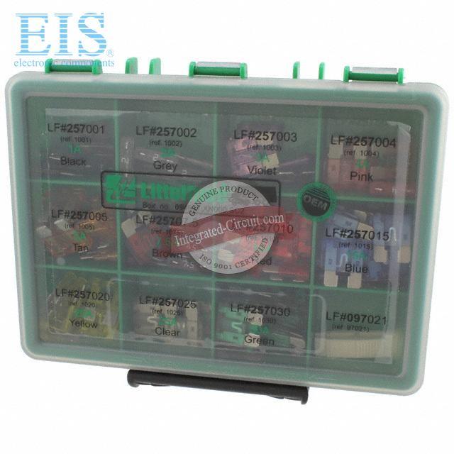 Littelfuse 00940506ZP Low Profile Mini Fuse Assortment 6 Piece